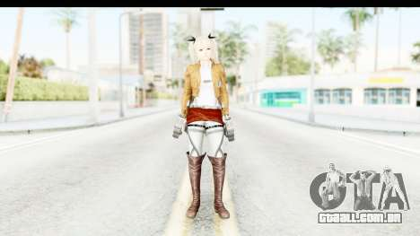 DoA 5: LR - Marie Rose (A.O.T DLC) para GTA San Andreas segunda tela