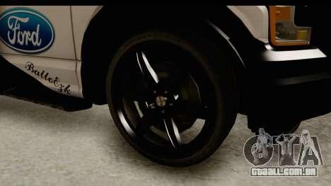 Ford F-150 Tuning para GTA San Andreas vista traseira