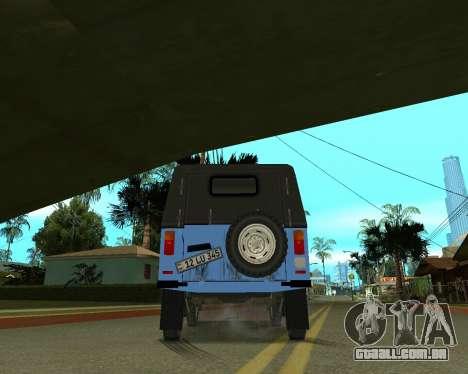 Luaz 969 Armenian para GTA San Andreas vista superior