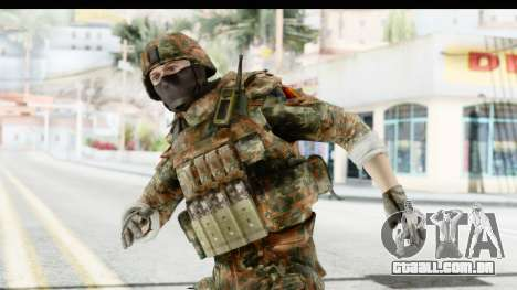 Global Warfare Germany para GTA San Andreas