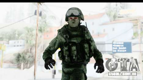 Global Warfare Russia para GTA San Andreas