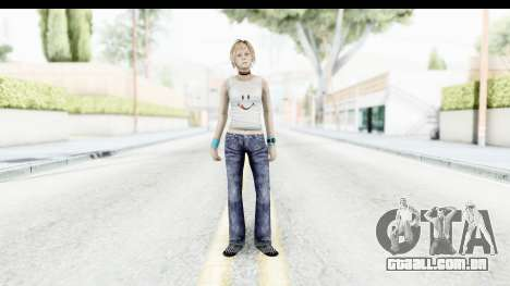 Silent Hill 3 - Heather Sporty White Delicious para GTA San Andreas segunda tela