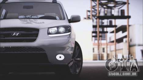 Hyundai Santa Fe Stock para GTA San Andreas vista direita