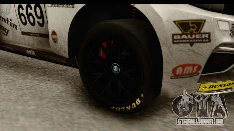 BMW M235i Coupe para GTA San Andreas vista traseira