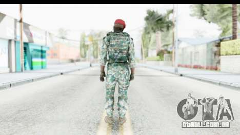 Global Warfare Indonesia para GTA San Andreas terceira tela
