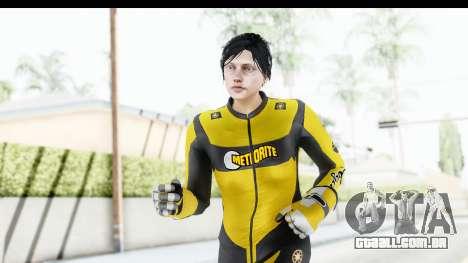 GTA 5 DLC Cunning Stuns Female Skin para GTA San Andreas