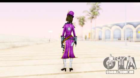 Borderland - Moxi Purple para GTA San Andreas terceira tela