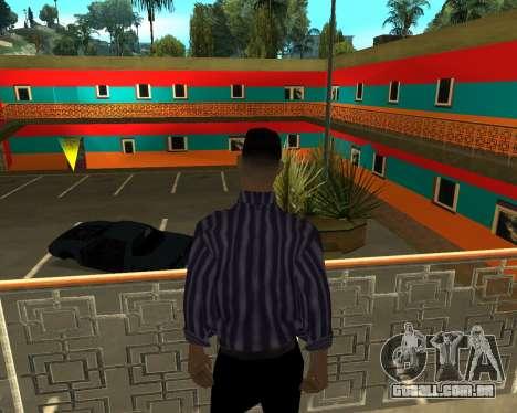 Armenian Jeferson para GTA San Andreas oitavo tela