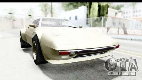GTA 5 Lampadati Tropos Rallye IVF para GTA San Andreas traseira esquerda vista