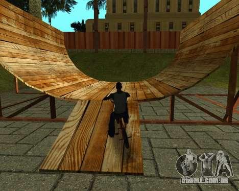 New HD Glen Park para GTA San Andreas nono tela