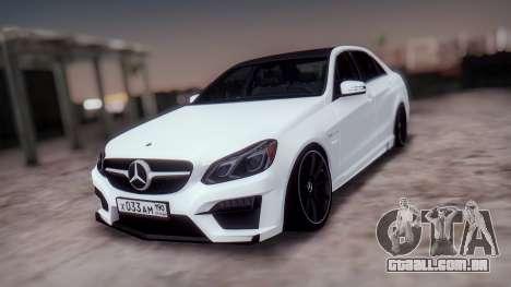 Mercedes-Benz E63 GSC para GTA San Andreas