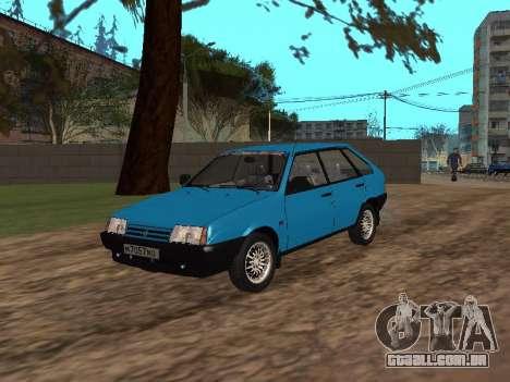 VAZ 2109 com rodas de liga para GTA San Andreas