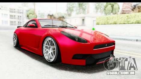 GTA 5 Ocelot Lynx SA Lights para GTA San Andreas