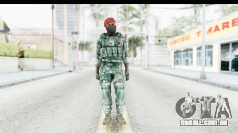 Global Warfare Indonesia para GTA San Andreas segunda tela