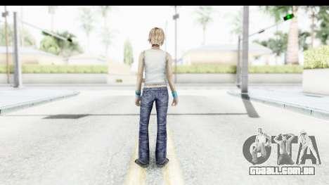 Silent Hill 3 - Heather Sporty White Delicious para GTA San Andreas terceira tela