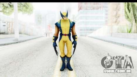 Marvel Heroes - Wolverine Modern para GTA San Andreas segunda tela