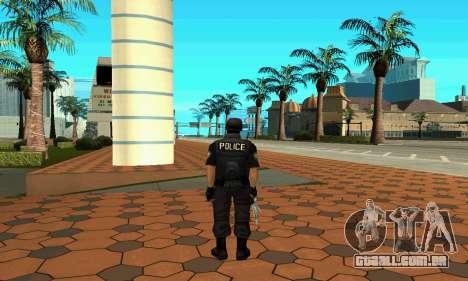 NextGen mudou a pele original SWAT para GTA San Andreas terceira tela