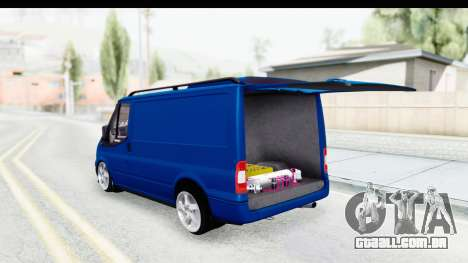 Ford Transit Air para GTA San Andreas vista direita