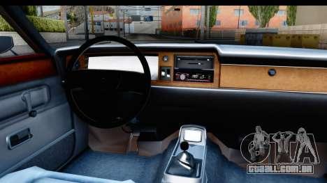 Ford Taunus Coupe para GTA San Andreas vista interior