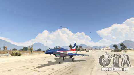 J-10A SY Aerobatic Team para GTA 5