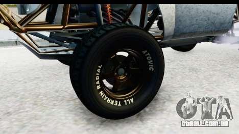 GTA 5 Trophy Truck SA Lights PJ para GTA San Andreas vista traseira