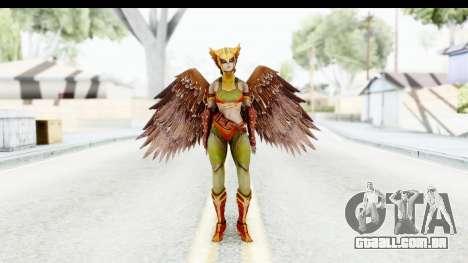 Injustice God Among Us - Hawk Girl para GTA San Andreas segunda tela