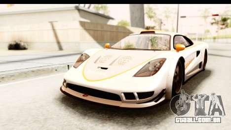 GTA 5 Progen Tyrus SA Style para GTA San Andreas vista inferior