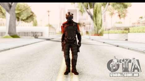 Homefront The Revolution - KPA v3 Black para GTA San Andreas segunda tela