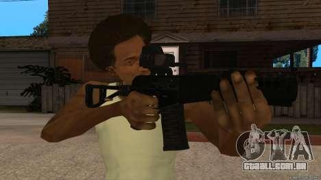 Como-VAL Payday 2 para GTA San Andreas segunda tela