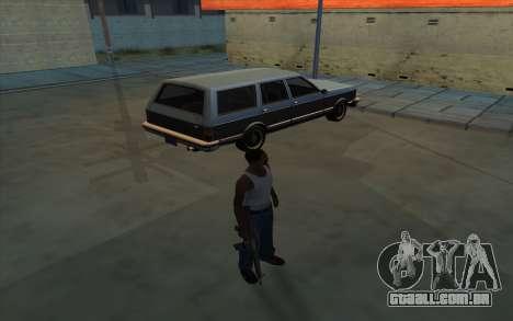 A posse de armas para GTA San Andreas