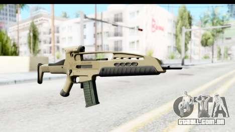H&K XM8 para GTA San Andreas