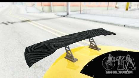 GTA 5 Emperor ETR1 v2 SA Lights para vista lateral GTA San Andreas
