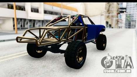 GTA 5 Trophy Truck IVF PJ para GTA San Andreas esquerda vista