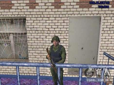 O driver da MIA para GTA San Andreas segunda tela