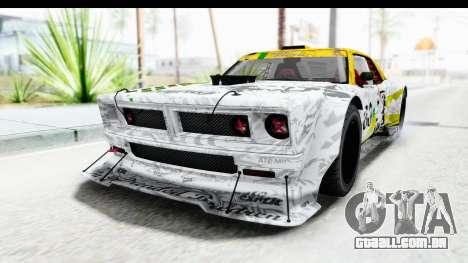 GTA 5 Declasse Drift Tampa para GTA San Andreas vista interior