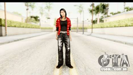 Twilight - Bella para GTA San Andreas segunda tela