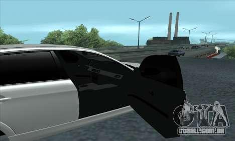 BMW 325i E90 para GTA San Andreas vista direita