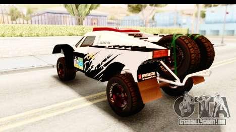GTA 5 Desert Raid SA Lights para GTA San Andreas vista superior