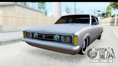 Ford Taunus Coupe para GTA San Andreas vista direita