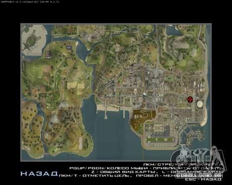 Garagem CJ arménio para GTA San Andreas quinto tela