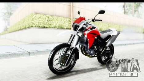 Yamaha XT 660R para GTA San Andreas vista direita