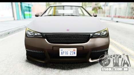GTA 5 Ubermacht Oracle II SA Style para vista lateral GTA San Andreas