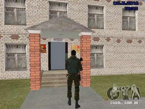 Policial para GTA San Andreas por diante tela