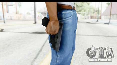 Glock P80 para GTA San Andreas terceira tela