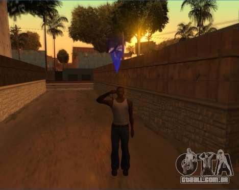 Saudação para GTA San Andreas