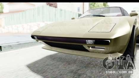 GTA 5 Lampadati Tropos Rallye IVF para vista lateral GTA San Andreas