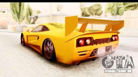 GTA 5 Progen Tyrus SA Style para GTA San Andreas vista direita