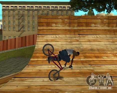 New HD Glen Park para GTA San Andreas décimo tela