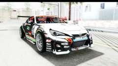 D1GP Toyota 86 2015 DRIVE para GTA San Andreas