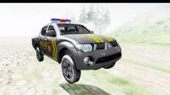 Mitsubishi L200 Indonesian Police